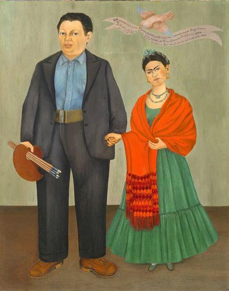 Frida Khalo FK et DG 1931