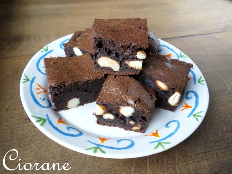 brownies-cajou