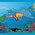 Nager avec les dauphins !