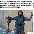 Vos potes ; tas de traîtres, de lâches et de collabos ! (1)