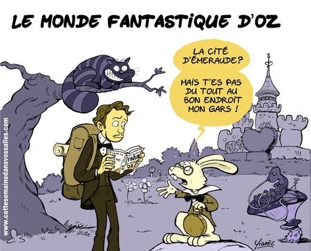 le monde fantastique d'Oz