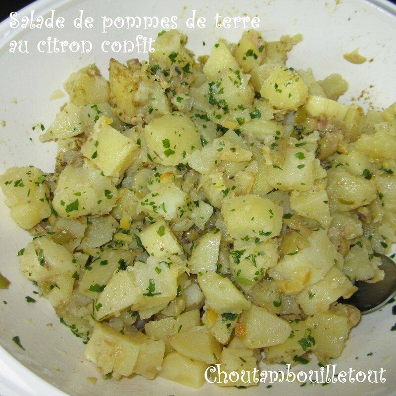salade patate citron