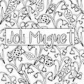 Coloriage muguet (à télécharger gratuitement)