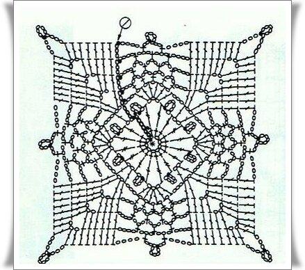 crochet granny beau