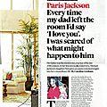 Interview de paris jackson à event, 14 avril 2013