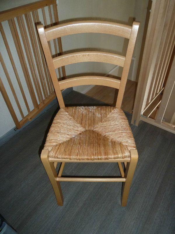 Chaise En Paille Avant Apr S Mes Cr A Home Made