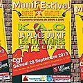 Manif'estival 2013