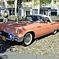 Ford thunderbird 2-door convertible de 1957 (Rallye de France 2011) 01