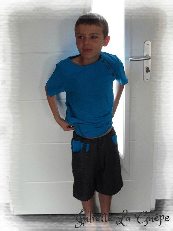 Printanier jean et bleu 1
