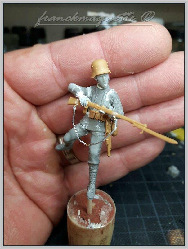 soldat allemand ww1
