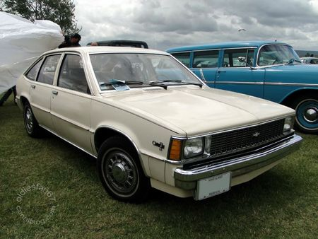 Chevrolet citation 5door hatchback 1980 Retro Meus Auto Madine 2011 1