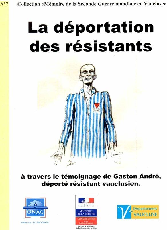 Livret N°7-Gaston ANDRE
