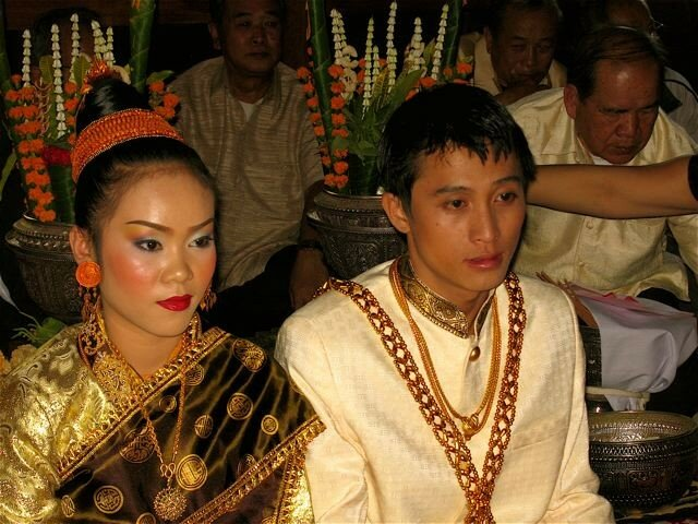 Tradition mariage laos