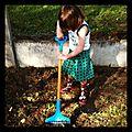 Jouer ou jardiner un mercredi après-midi au