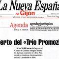 La Nueva Espana (agenda) 28/10/09