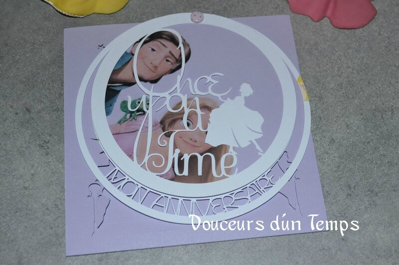 faire part rond once upon a time4
