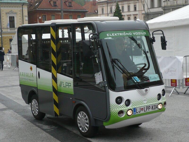 ESAGONO ENERGIA Geco Kavalir minibus urbain électrique Ljubljana (1)