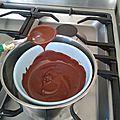 Enrober ses cakes pops de chocolat au bain-marie