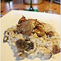 Risotto aux champignons et foie gras pol 