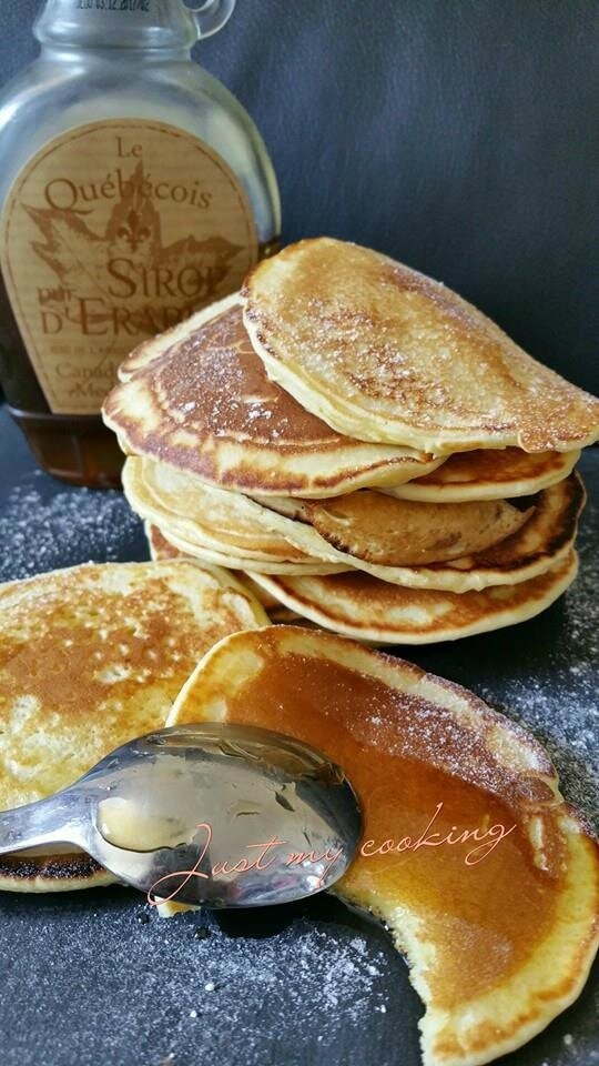 pancakes thermomix ou pas just my cooking mes p 39 tites recettes. Black Bedroom Furniture Sets. Home Design Ideas