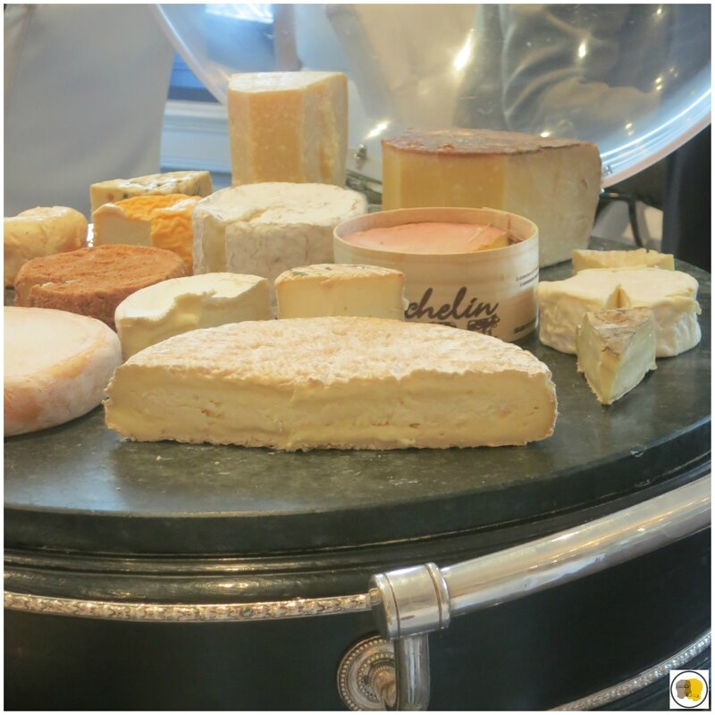 Plateau de fromages Philippe Olivier