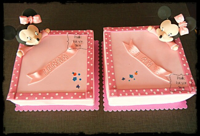 gateaux doudou minnie prunillefee