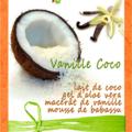 Crème de lait démaquillante Vanille/Coco