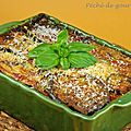 Lasagnes de lgumes  l'agneau