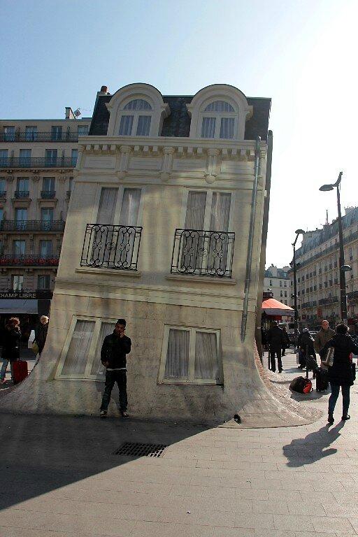 5-Maison Fond, Leandro Erlich, Gare du Nord_8684