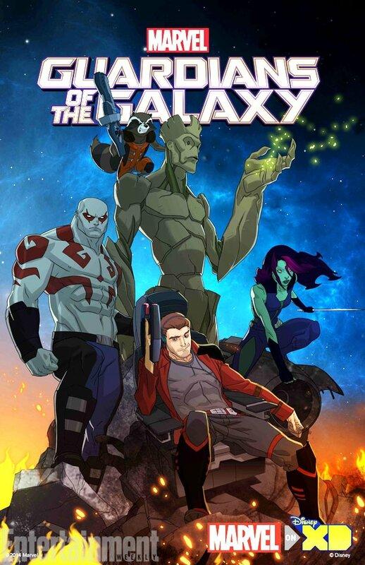 les-gardiens-de-la-galaxie-série-animée-poster