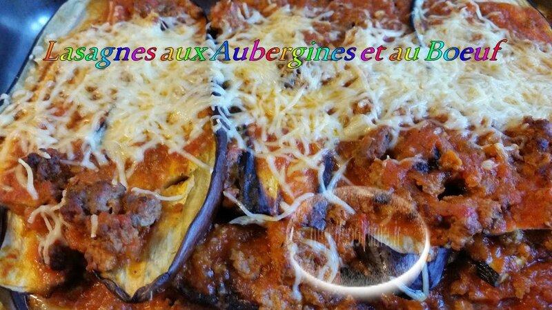 Lasagnes aux aubergines et au boeuf au thermomix