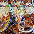 Lasagnes aux aubergines et au boeuf ( au thermomix )