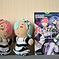 #crochet : amigurumi rem et ram, re:zero, r:life in a different world from zero