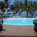 Vue sur la piscine du Cotton Bay