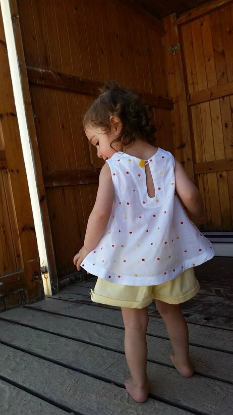 Short Ella-top japonais 2A 1-9