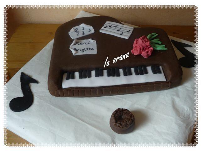 Gâteau piano/Piano cake