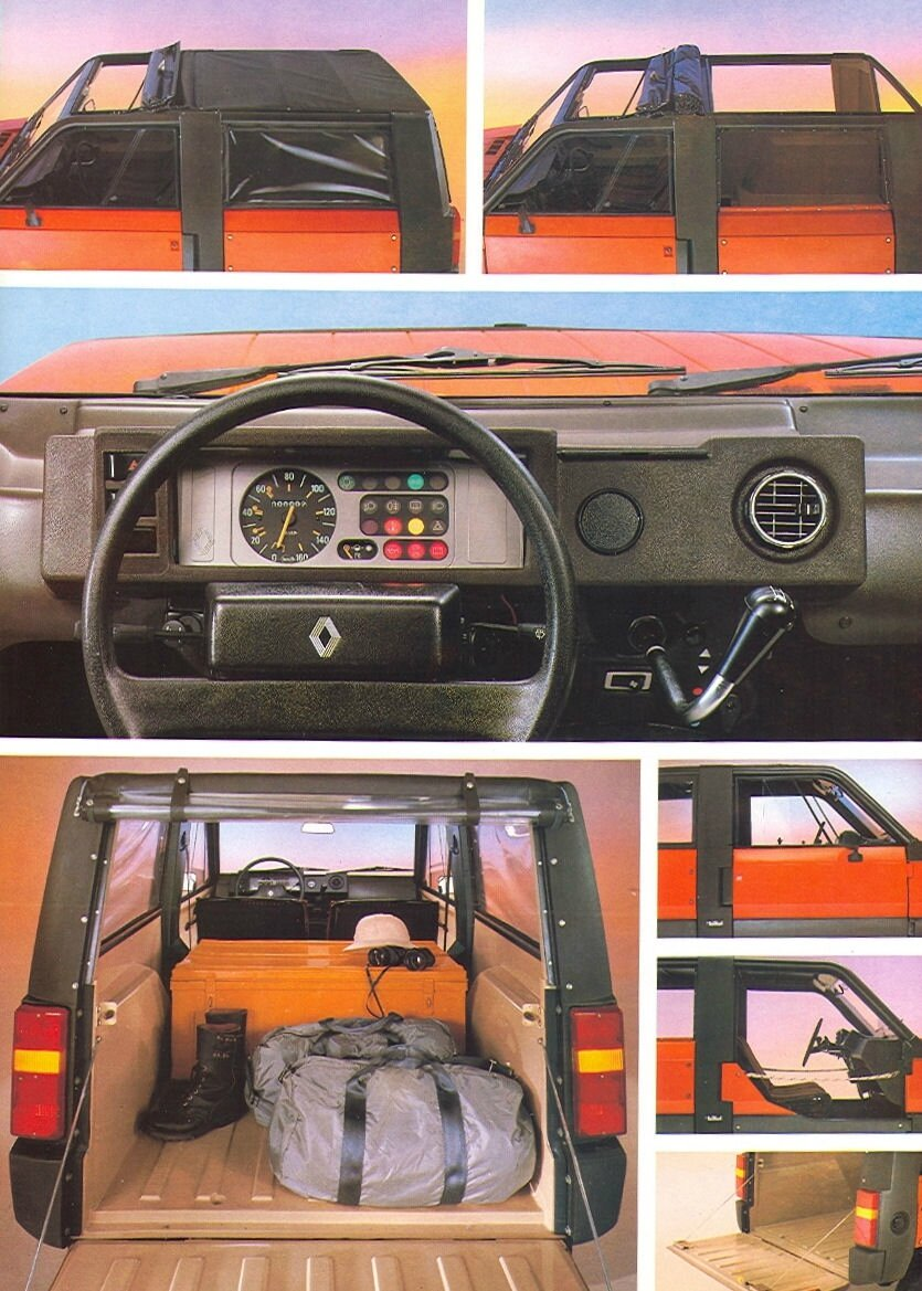 Rodeo 5 1981 1987 zoom auto blog for Renault 6 interieur