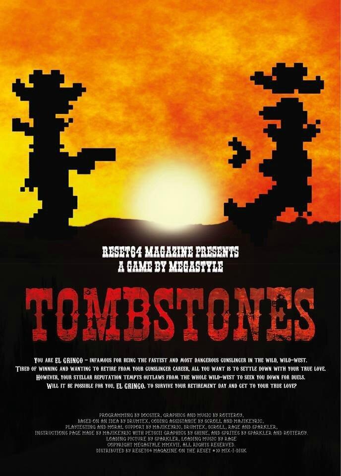 Tombstones , une nouveauté Commodore 64