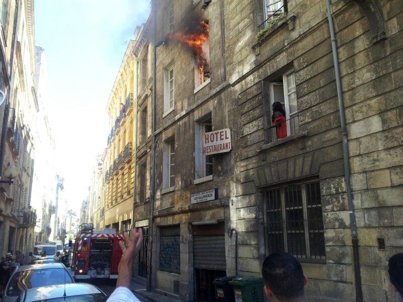 Incendie mortel à Bordeaux 1