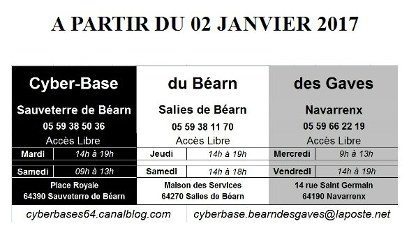 Cyberbases du Béarn des Gaves