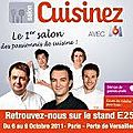 1er Salon Cuisinez Paris