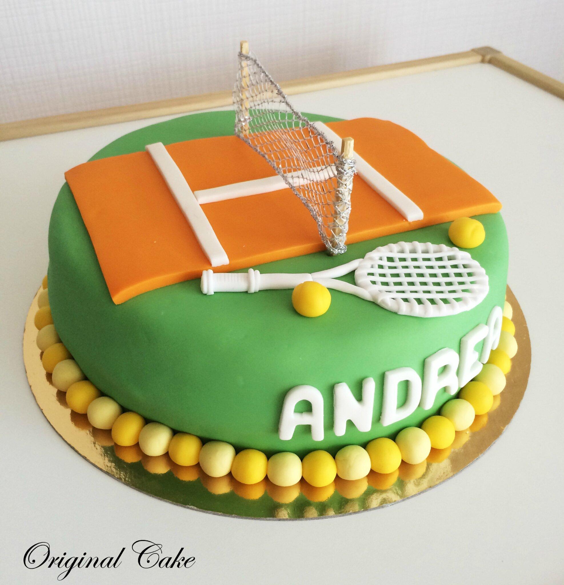Tennis Cake Recette
