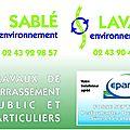 019 Logo sablé environnement