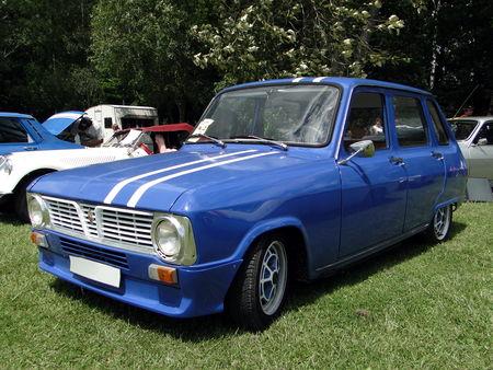 RENAULT 6 serie 1 1968 1973 Retro meus Auto Lac de Madine 2010 1