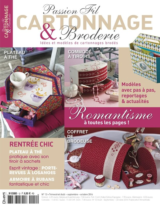 Passion Fil et Cartonnage n°12