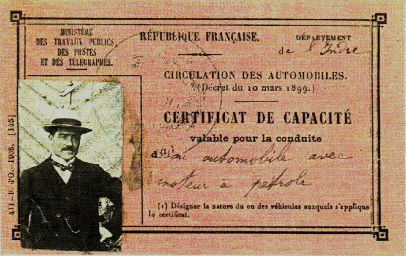 CertificatCapacite