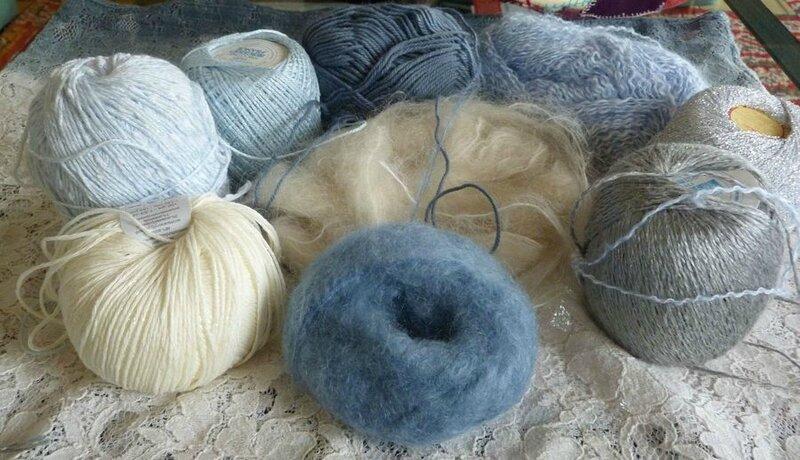 Freeform crochet couleurs et matières