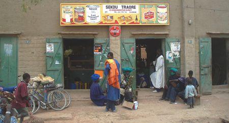 Devanture illustrée DJENNÉ Mali