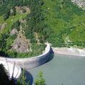 Rando dans le parc de la Vanoise - Barrage d'Aussois - Alpes