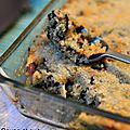 Gratin de quinoa, gorgonzola et épinards
